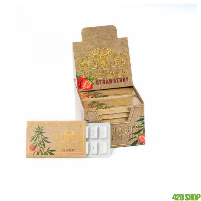 CBD Chewing Gum Strawberry Flavour