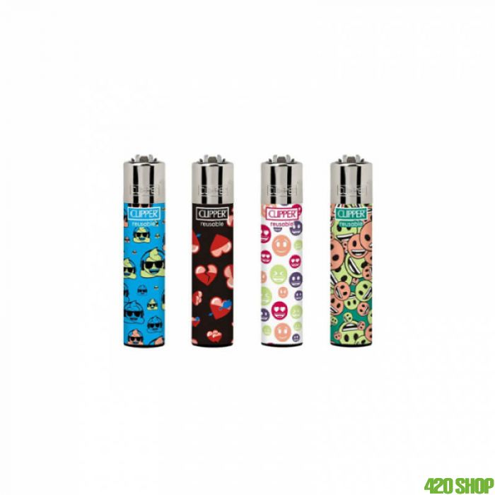 Clipper Lighters Emoji