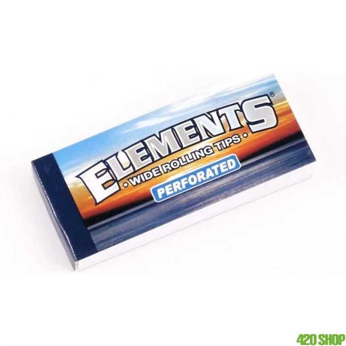 Elements Brede Filtertips (Perforated)