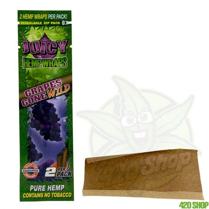 Juicy Jay Hemp Blunt Grape Flavor