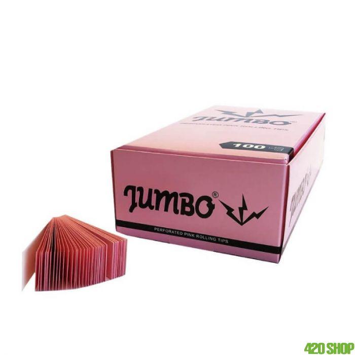 Jumbo Roze Filtertips