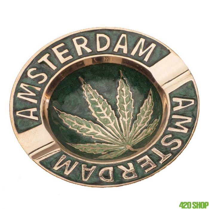 Brass Ashtray Amsterdam