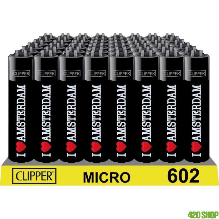 Micro Clipper I Love Amsterdam