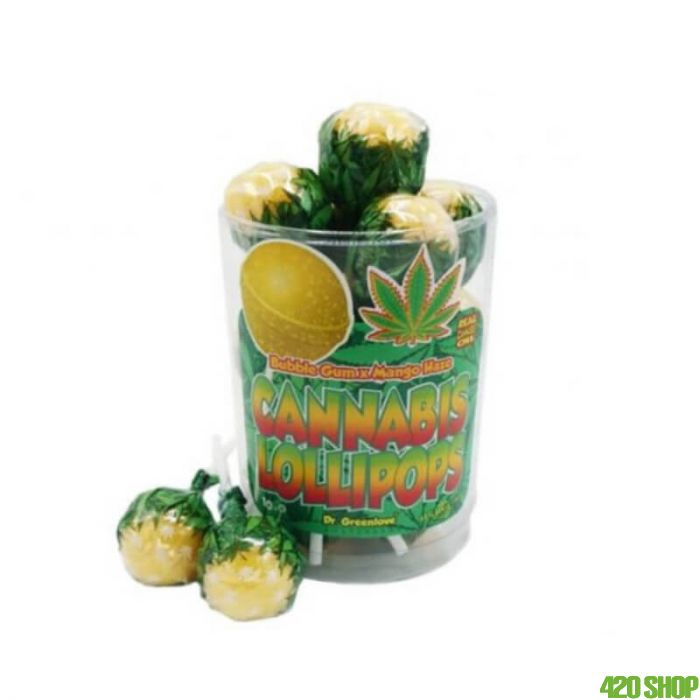 Wiet Lolly Bubblegum Mango Haze
