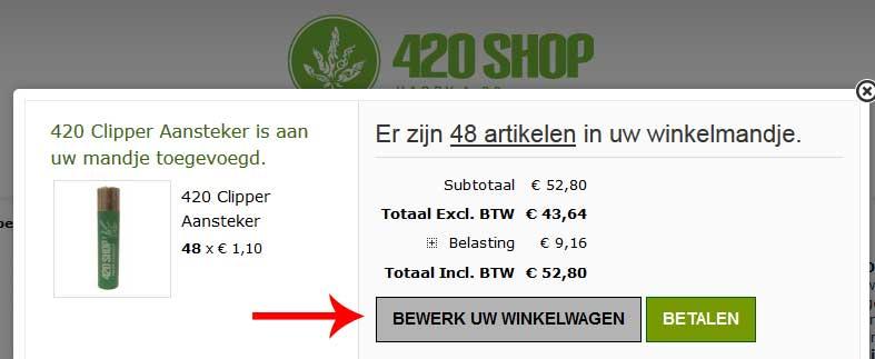 420 Shop Kortingscode